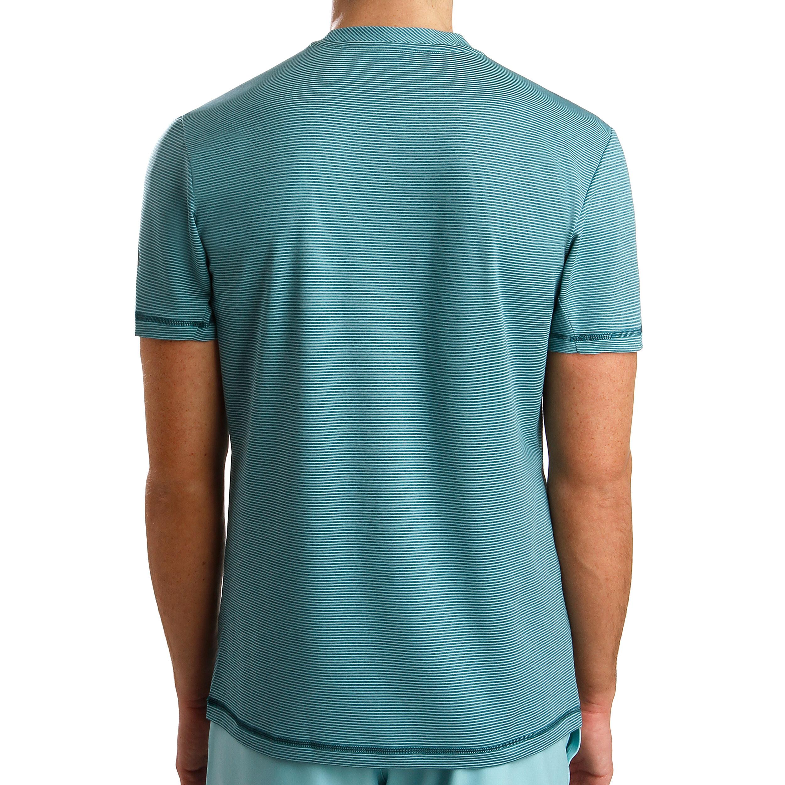 adidas Parley Striped T Shirt Herren Mint, Petrol online
