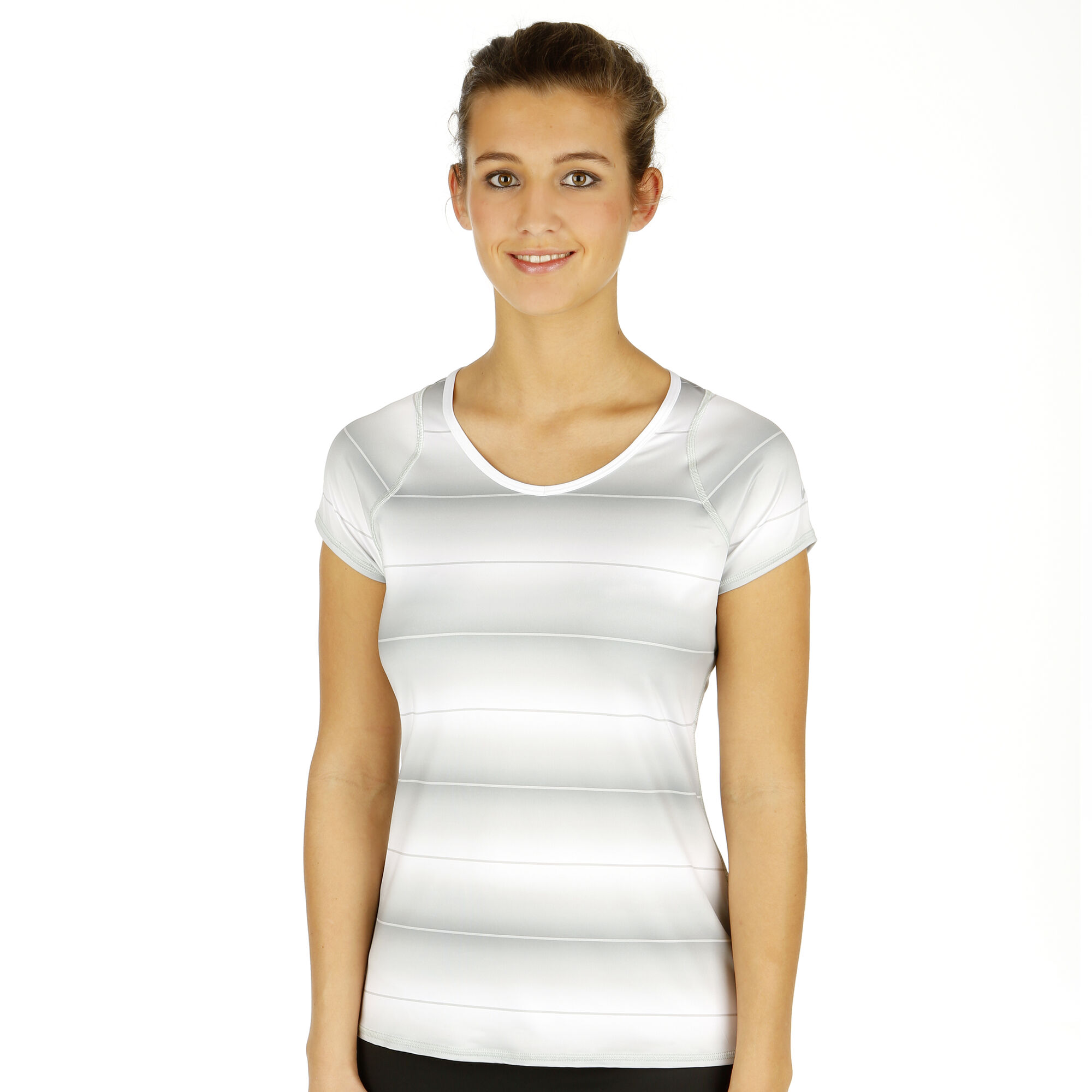 Nike T Shirt Damen Grau