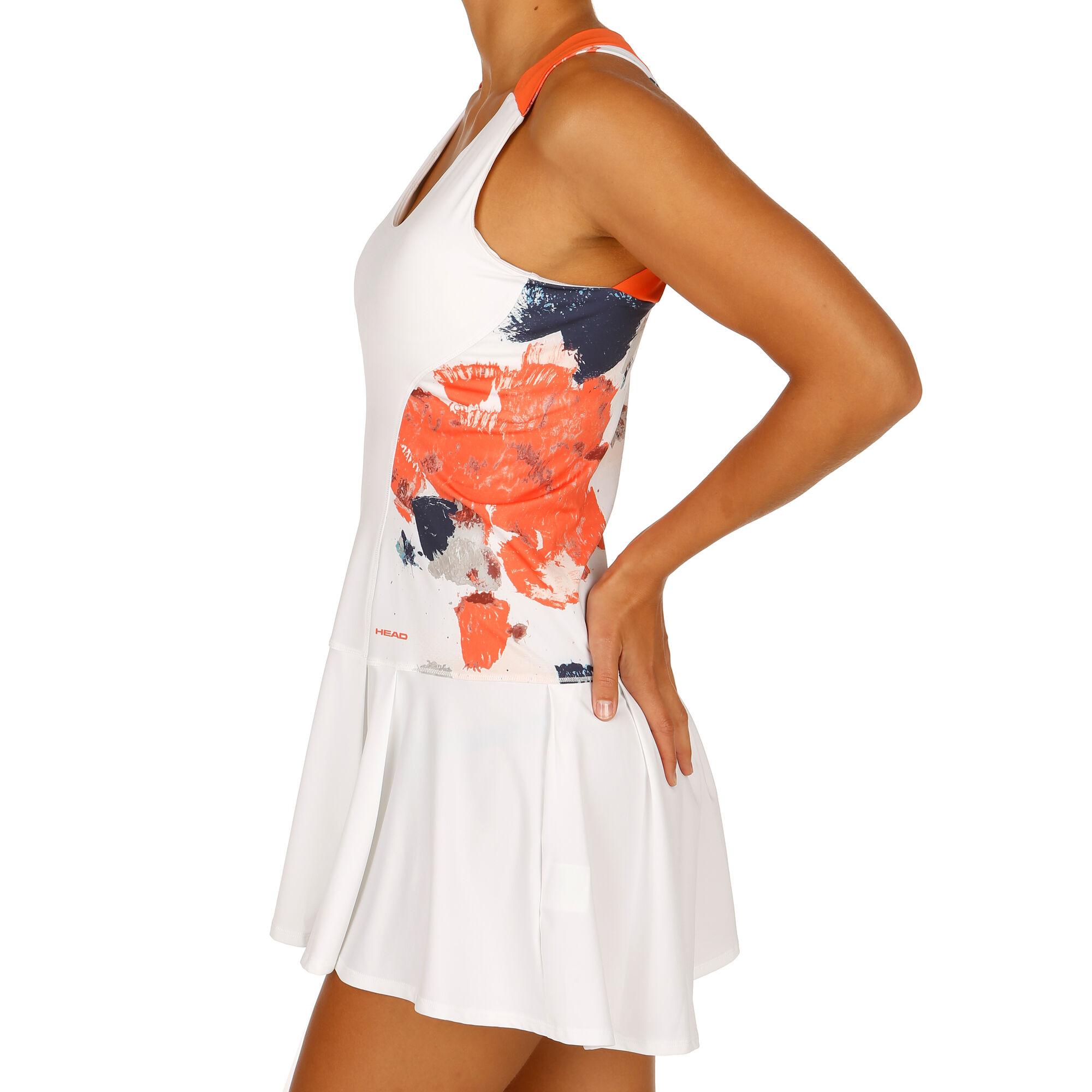 HEAD Vision Graphic Kleid Damen - Weiß, Koralle online ...