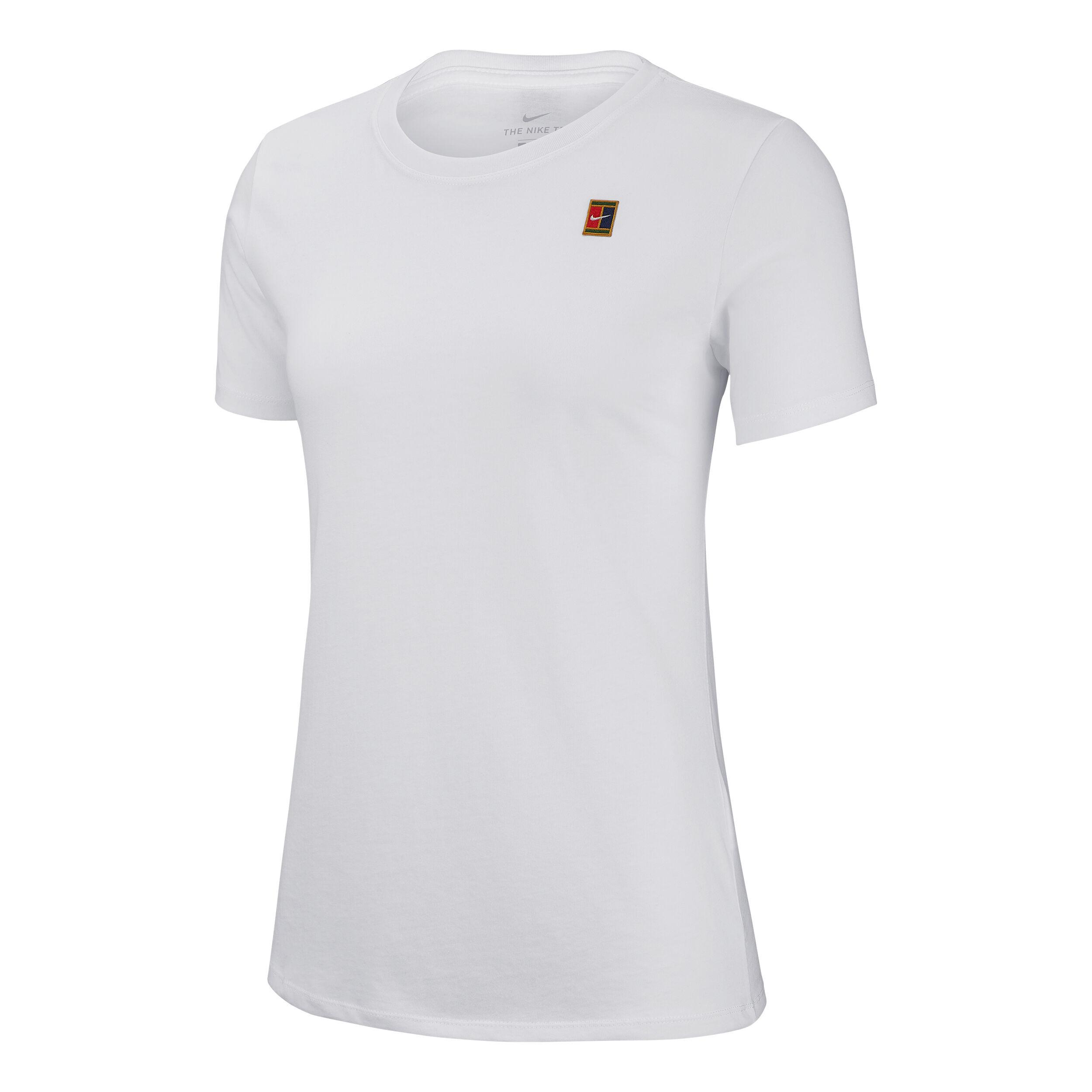 Nike Damen T Shirt Heritage weißrot