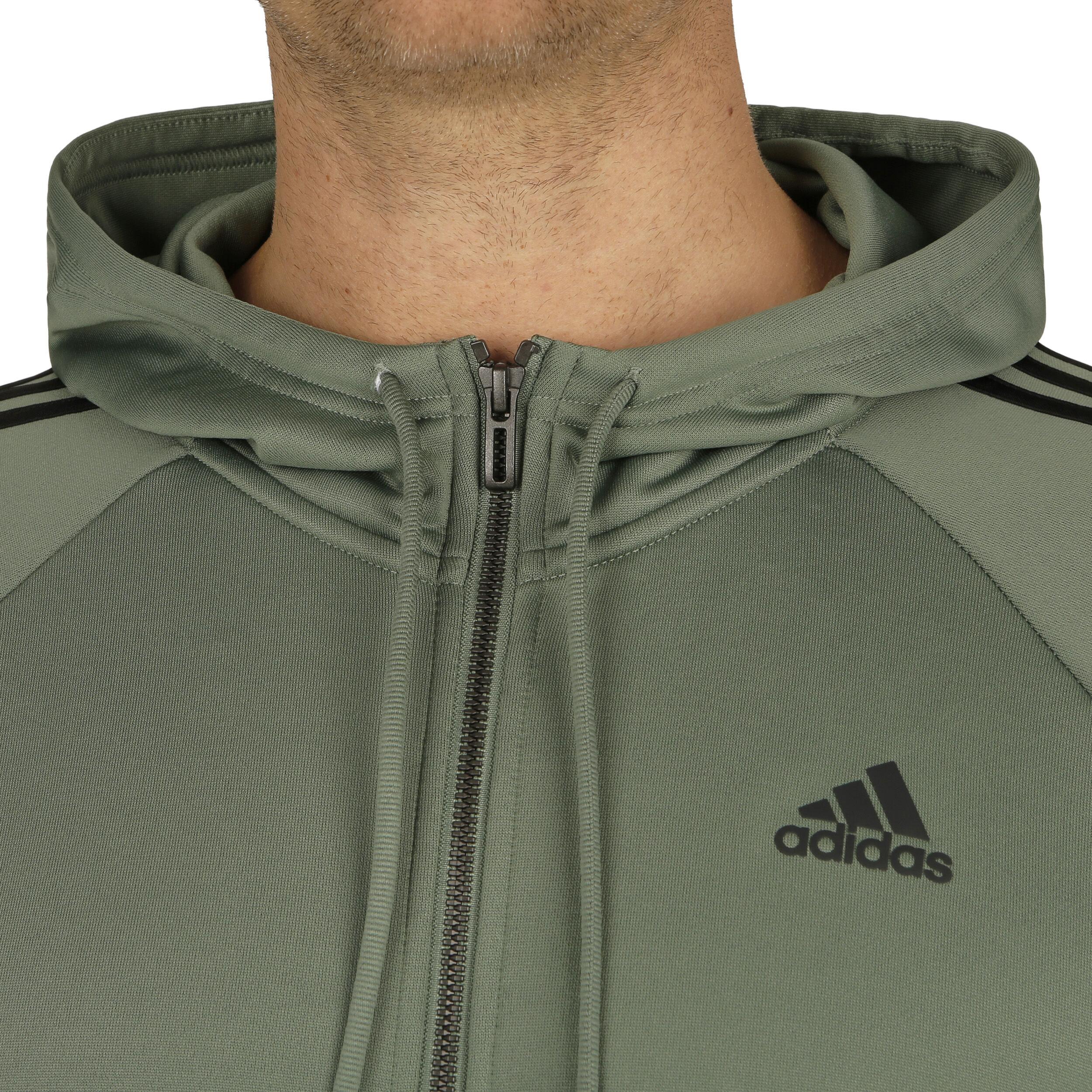 adidas Re Focus Trainingsanzug Herren Oliv, Schwarz online