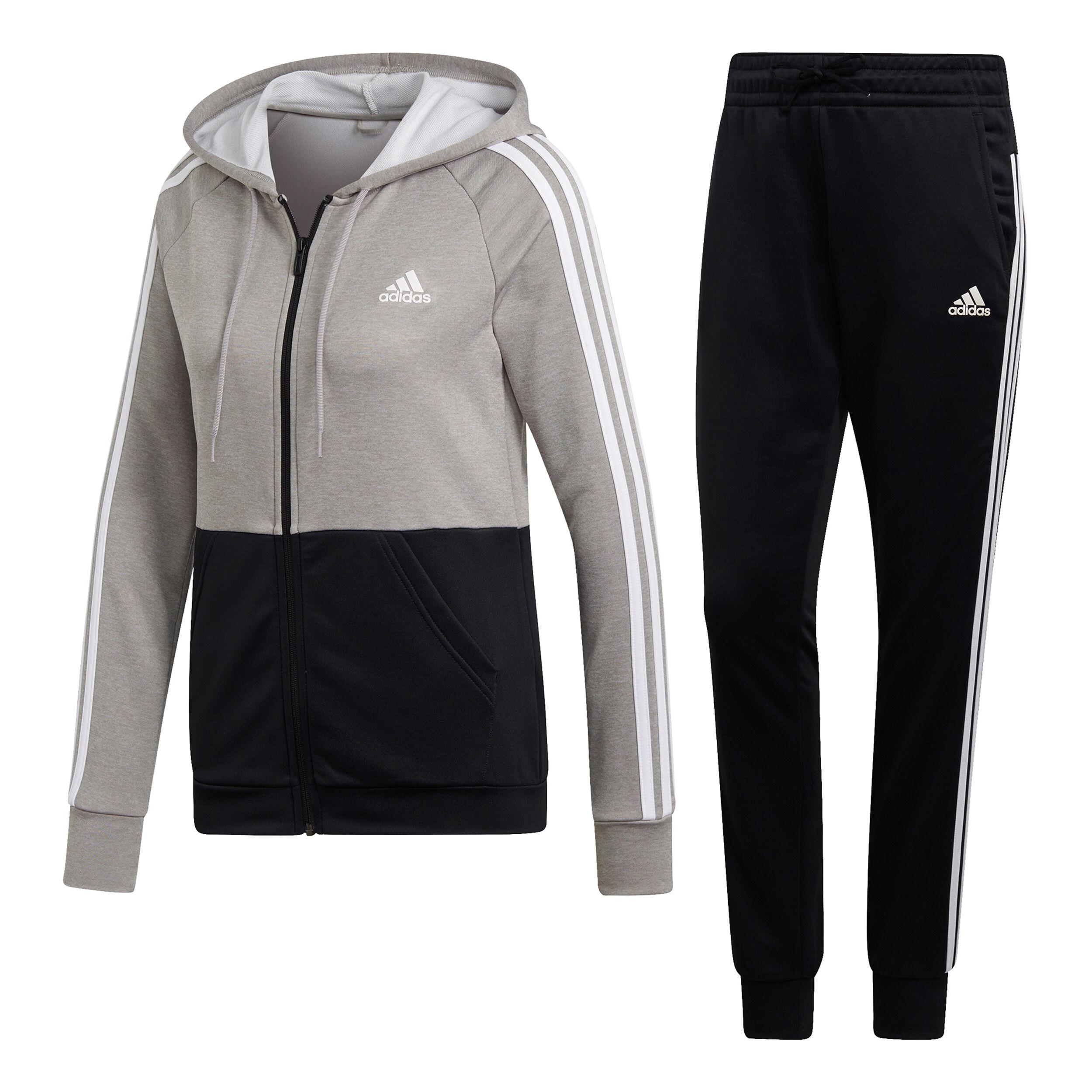 adidas Game Time Trainingsanzug Damen Grau, Schwarz online