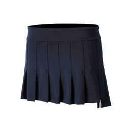 High Low Pleated Skirt