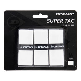 D TAC SUPER TAC OVERGRIP WHITE 3PCS