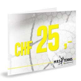 Gutschein 25 CHF