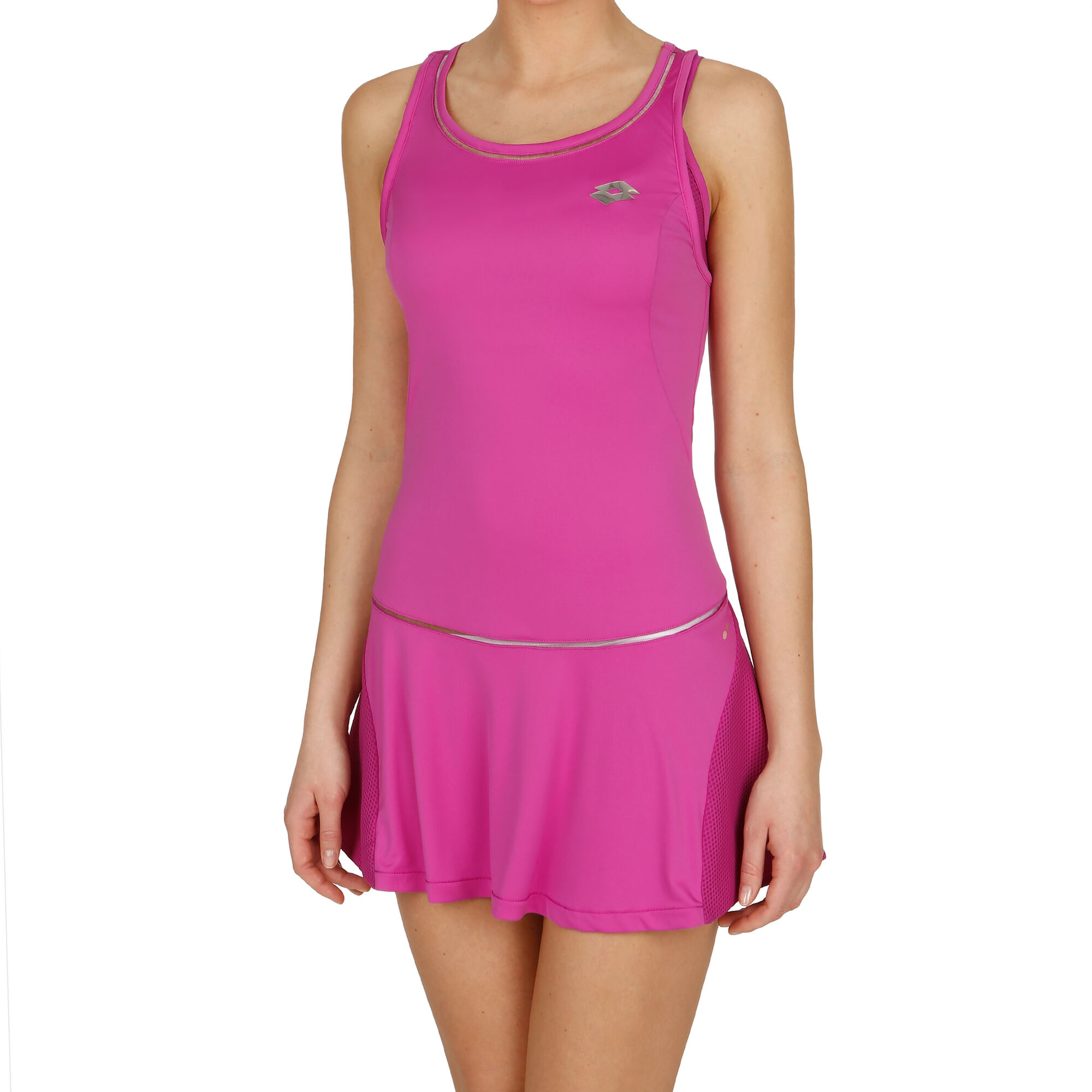Lotto Nixia III Kleid Damen - Pink, Silber online kaufen ...