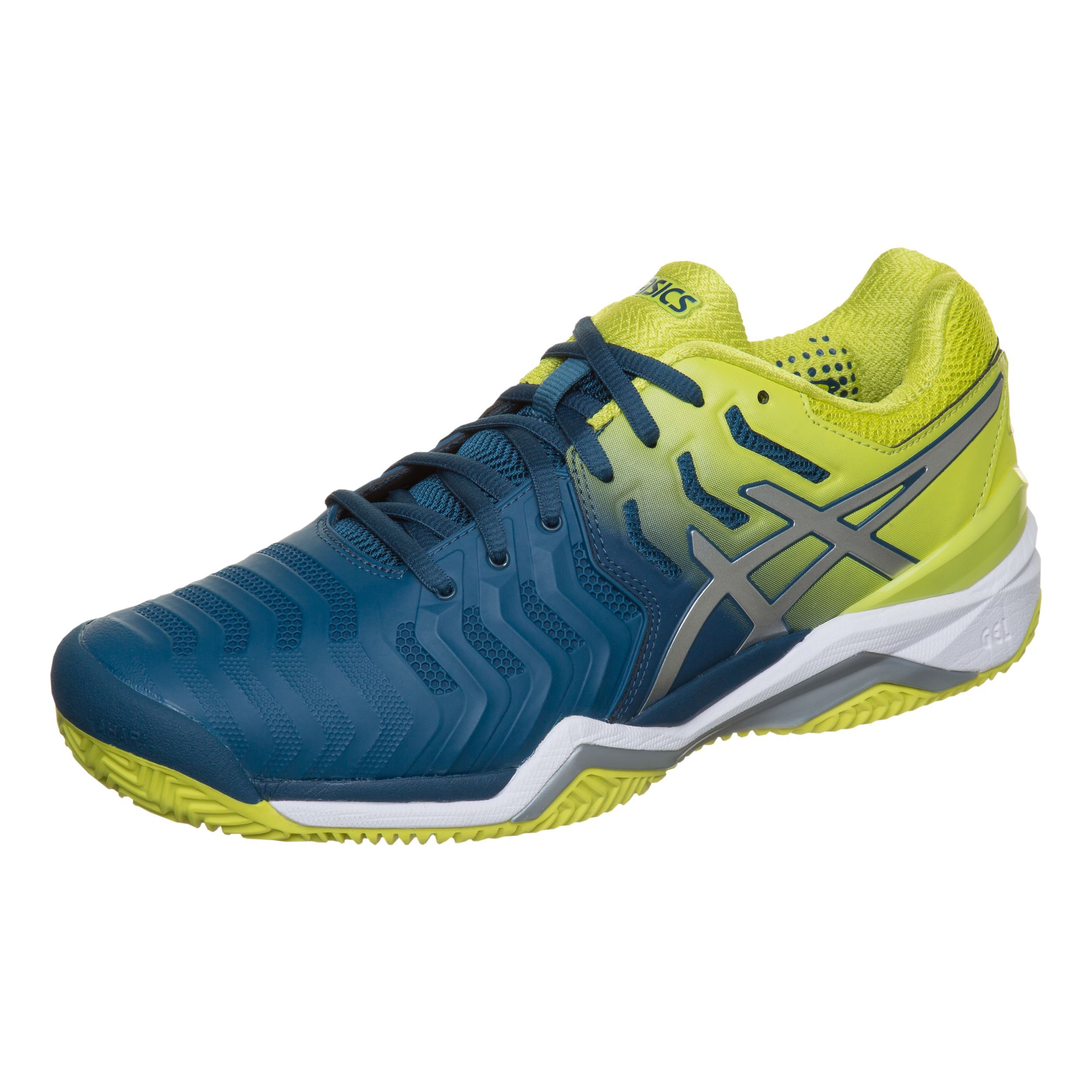 Asics Gel Resolution 7 Clay Sandplatzschuh Herren Blau