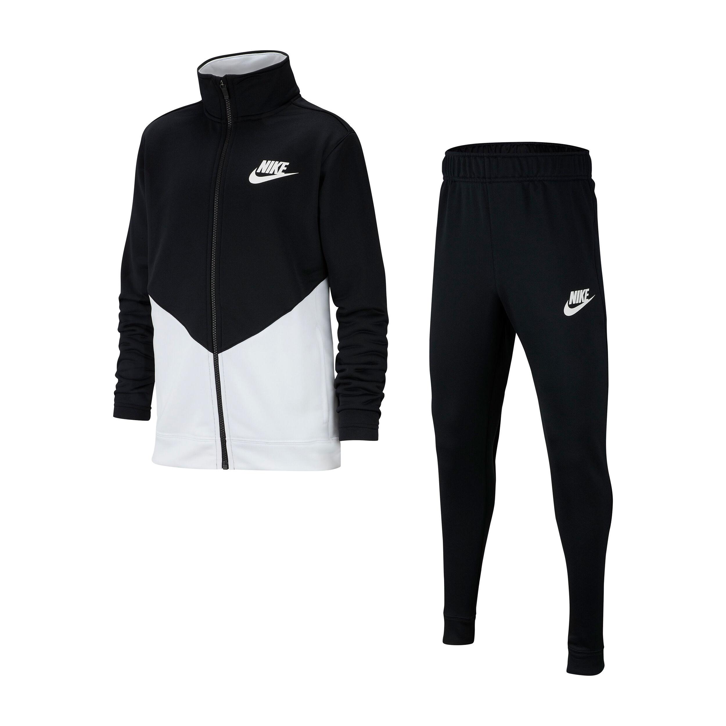 Sportswear Trainingsanzug Jungen Schwarz, Weiß